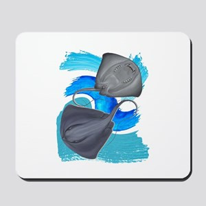 TWO ON IT Mousepad