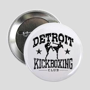 "Detroit Kickboxing 2.25"" Button"