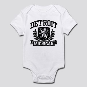Detroit Michigan Infant Bodysuit