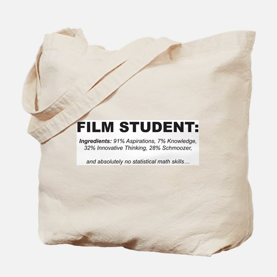 Film Student 3 Tote Bag