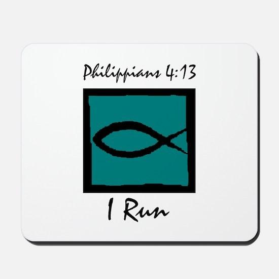Christian Runner's Mousepad