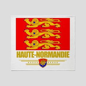 Haute-Normandie Throw Blanket