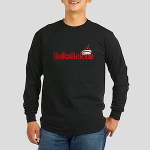 lickalicious Long Sleeve Dark T-Shirt