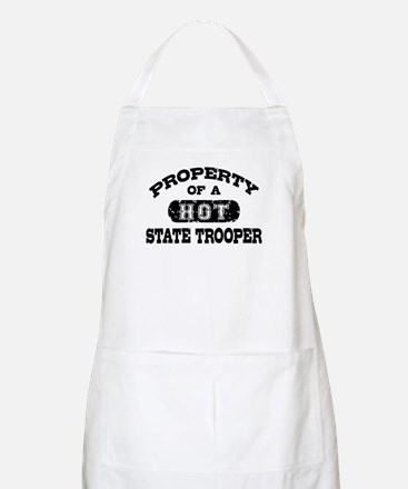 Property of a Hot State Trooper Apron
