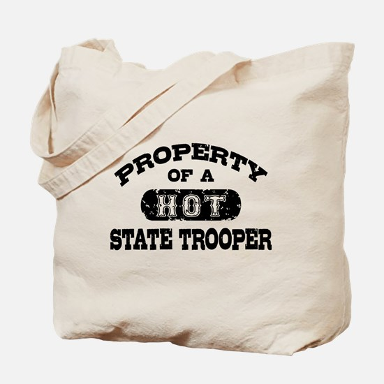 Property of a Hot State Trooper Tote Bag