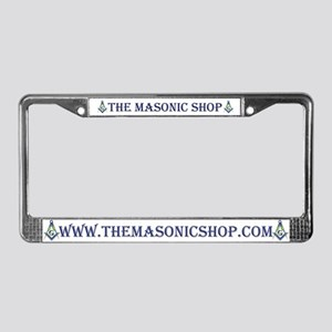 The Masonic Shop Logo License Plate Frame