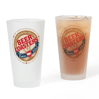 Beer Coasters Podcast Pint Glass