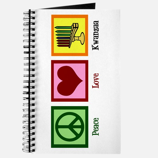 Peace Love Kwanzaa Journal