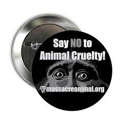 SAY NO TO ANIMAL CRUELTY - 2.25