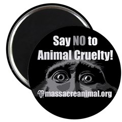 SAY NO TO ANIMAL CRUELTY - 2.25