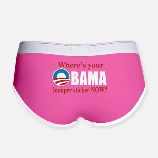 Anti Obama 2012 Women's Boy Brief