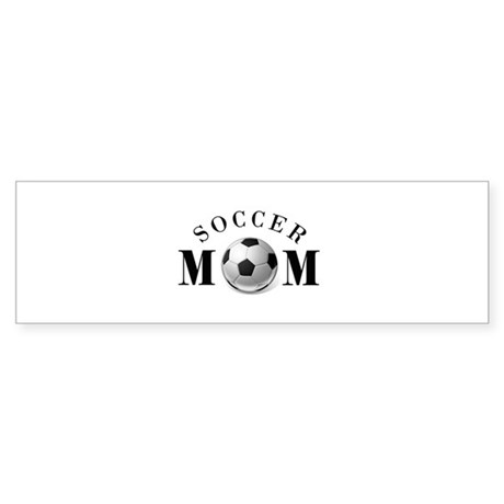 Soccer Mom (basic) Sticker (Bumper)