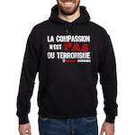 La compassion n'est pas du... Hoodie (dark)