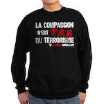 La compassion n'est pas du... Sweatshirt (dark)