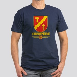Tampere Men's Fitted T-Shirt (dark)