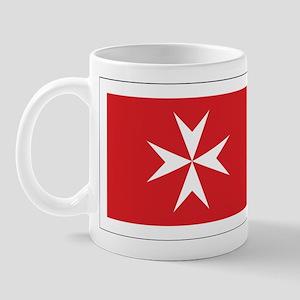 Malta Civil Ensign Mug