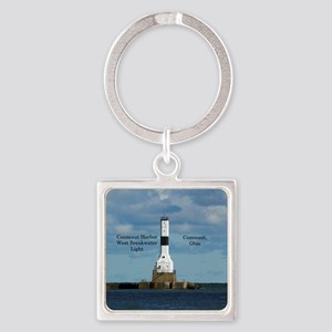 Conneaut Harbor West Breakwater Light Keychains