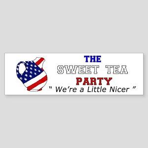 Sweet Tea Party Sticker (Bumper)