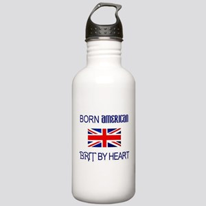 Born American, British by Hea Stainless Water Bott