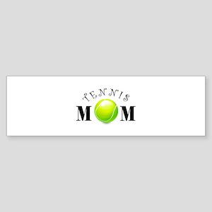 Tennis Mom (swirls) Sticker (Bumper)