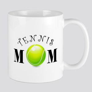 Tennis Mom (swirls) Mug