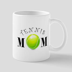 Tennis Mom (swirls) Mug