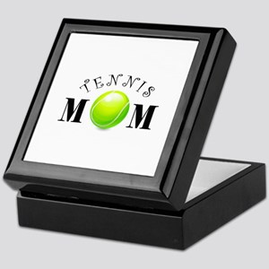 Tennis Mom (swirls) Keepsake Box
