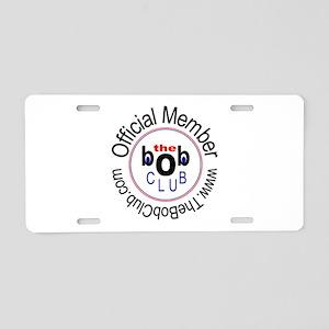 Bob Club Member Aluminum License Plate