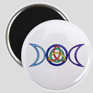 Balanced Indigo Moon Magnet