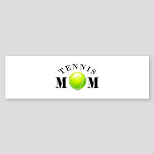 Tennis Mom (basic) Sticker (Bumper)