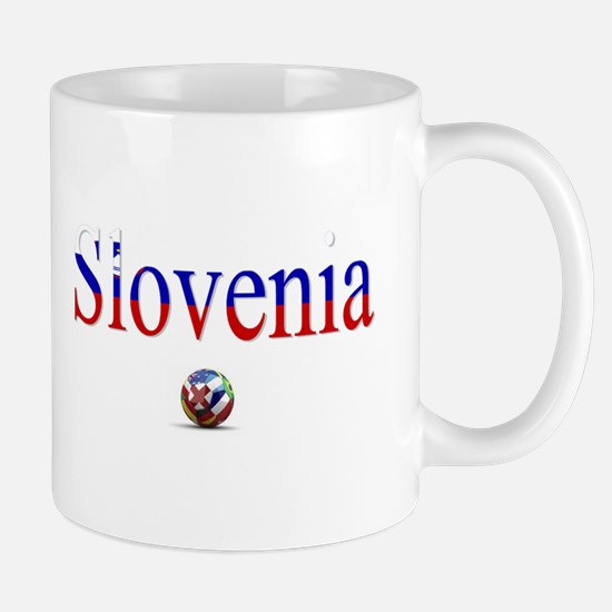 Cute Slovenia football Mug