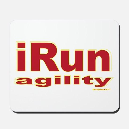 iRun agility Red/Yellow Mousepad