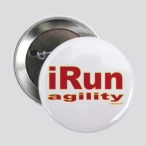 "iRun agility Red/Yellow 2.25"" Button"