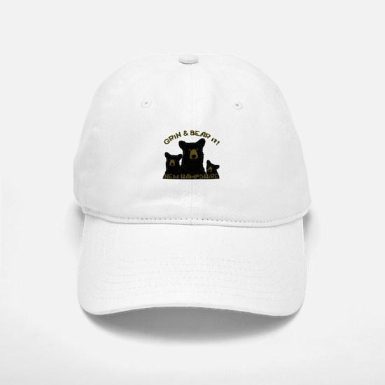Grin & Bear it! Baseball Baseball Cap