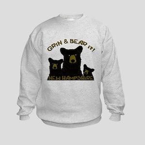 Grin & Bear it! Kids Sweatshirt