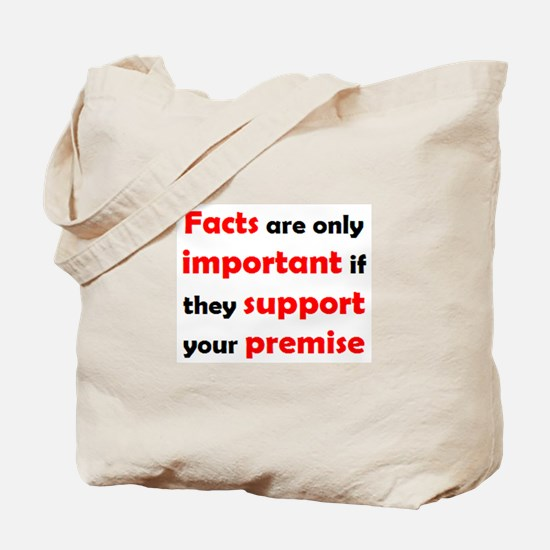 facts important Tote Bag