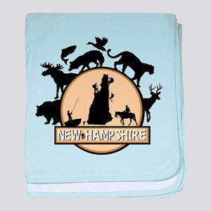 New Hampshire baby blanket