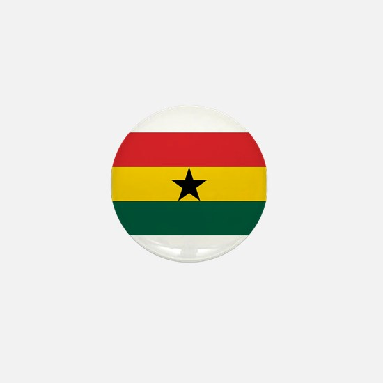 Ghana Flag Mini Button