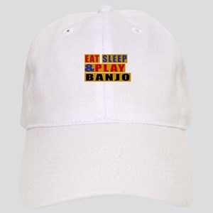 Eat Sleep And Banjo Cap