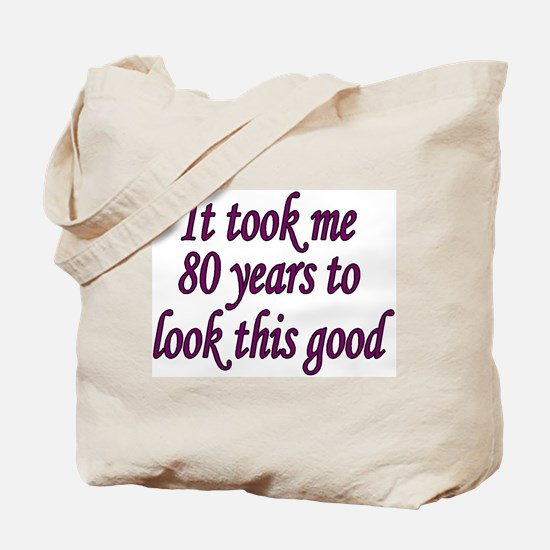 Unique 80 years old Tote Bag