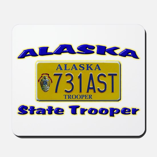 Alaska State Trooper Mousepad