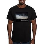 Summer Storm Men's Fitted T-Shirt (dark)
