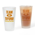 Team Tryptophan Drinking Glass
