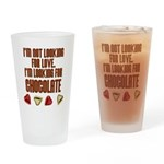 Looking for Chocolate Drinking Glass
