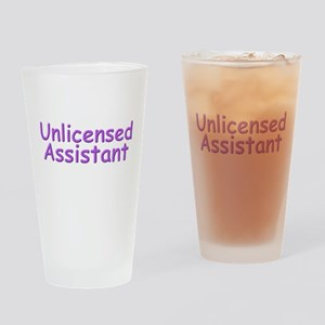 Unlicensed Assistant Drinking Glass