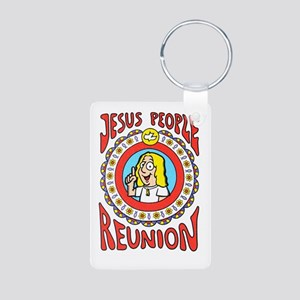 Jesus People Aluminum Photo Keychain