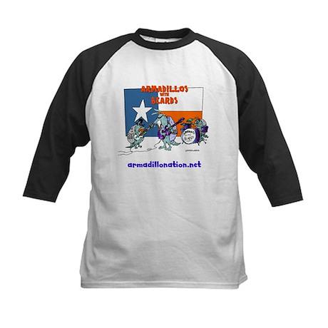 armadillos with beards Kids Baseball Jersey