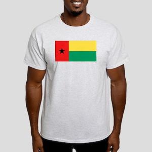 Flag of Guinea-Bissau Ash Grey T-Shirt