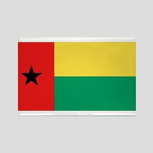 Flag of Guinea-Bissau Rectangle Magnet