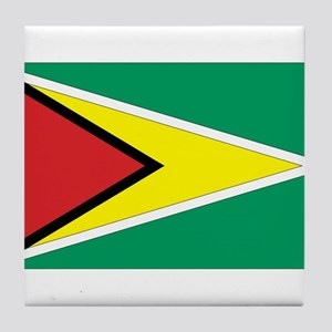 Flag of Guyana Tile Coaster